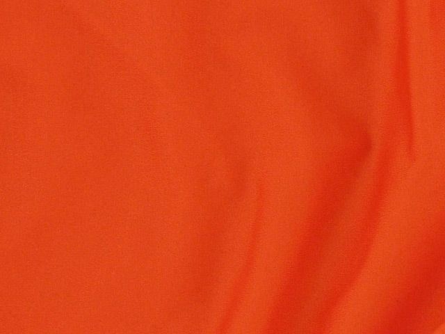 Stretch Plain Lycra, Orange