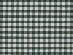Polycotton Gingham, 1/4 inch, Green