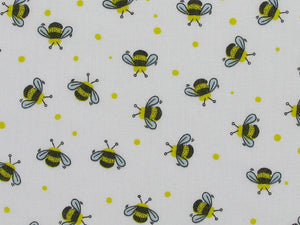 Honey Bees Polycotton Print