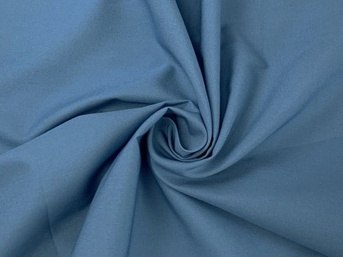 Premium Cotton Poplin, Powder Blue