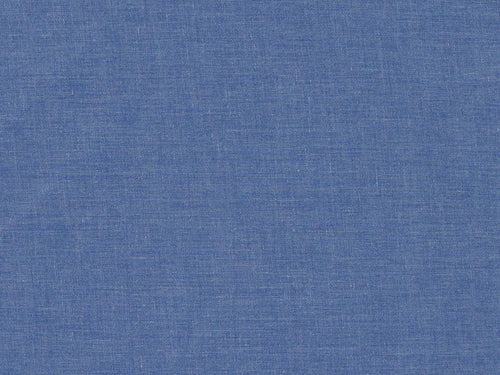 Plain Polycotton Fabric - Dark Denim