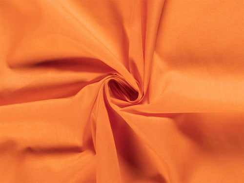 Premium Cotton Poplin, Orange