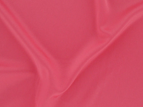 Stretch Satin Crepe, Coral