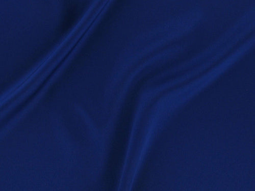 Stretch Satin Crepe, Royal Blue