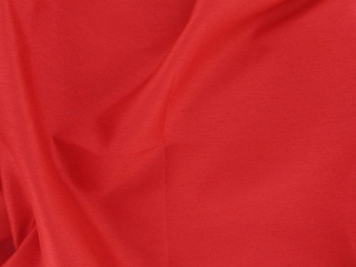 Satin Back Shantung - Red