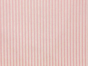 Craft Collection Cotton Print, Candy Stripe, Candy Pink