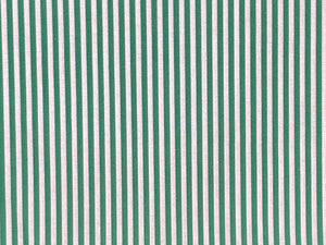 Craft Collection Cotton Print, Candy Stripe, Emerald