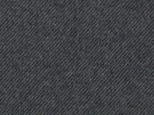 Vigo Brushed Stripe Italian Wool Blend, Grey