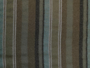 Handwoven Cotton and Wool Blend, Candross Stripe