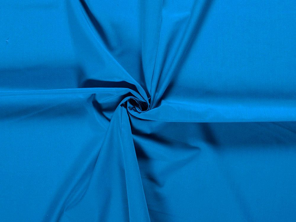 Wide Width Polycotton Sheeting, Turquoise