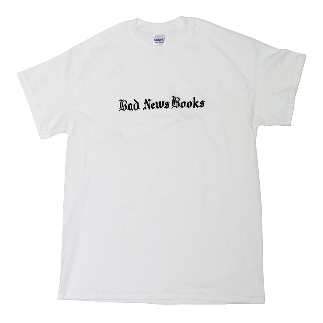 Bad News Books T-Shirt (White)