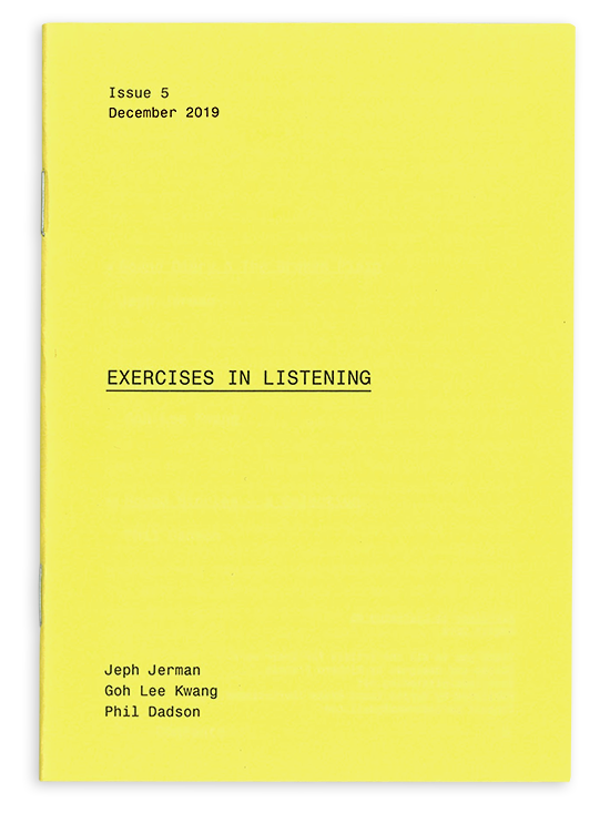 Exercises in Listening #5