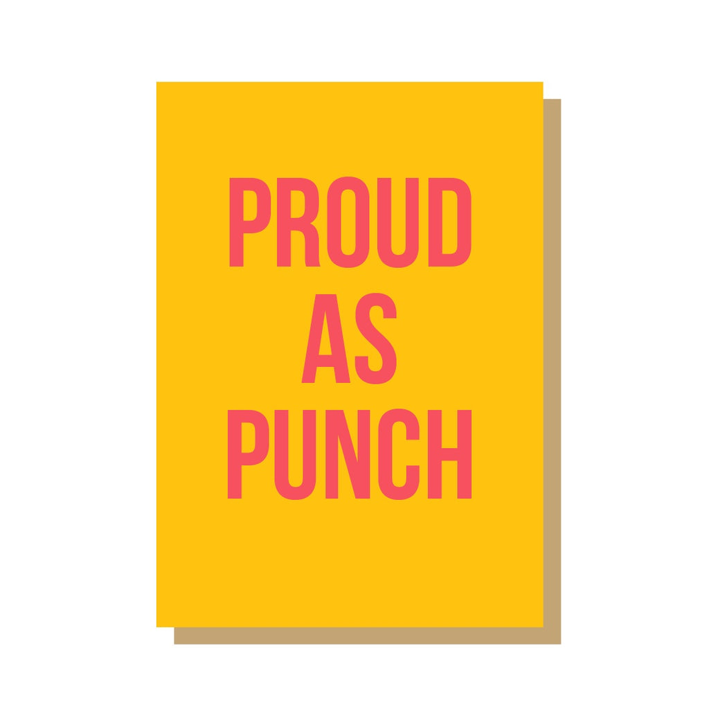 Proud As Punch - Strange Goods