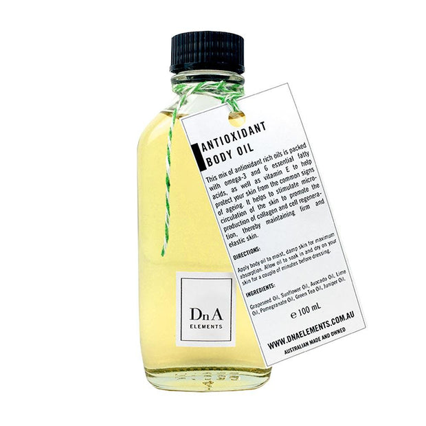 Antioxidant Oil 100mL, DnA Elements, Body Oil