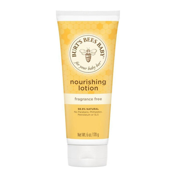 Baby Bee Fragrance Free Body Lotion 170g, Burt's Bees, Baby Oil