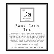 Baby Calm Tea 50g, Daylesford Apothecary, Pregnancy Tea