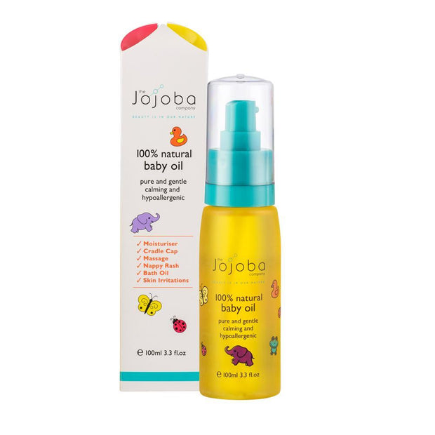 Baby Oil 100mL, The Jojoba Company, Baby Oil