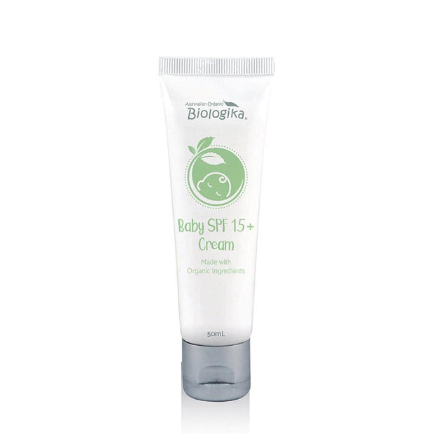 Baby SPF 15 Cream 50mL, Biologika, Baby Sunscreen