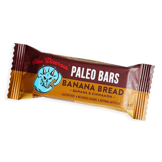 Banana Bread Paleo Bar, Blue Dinosaur, Bars