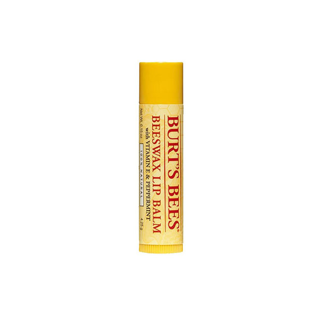 Beeswax Lip Balm with Peppermint & Vitamin E, Burt's Bees, Lip Balm