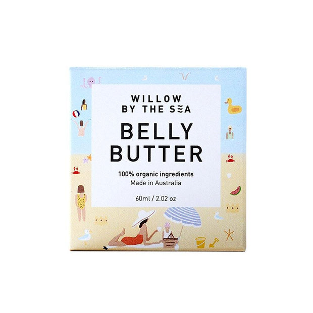 Belly Butter 60mL, Willow by the Sea, Belly Butter