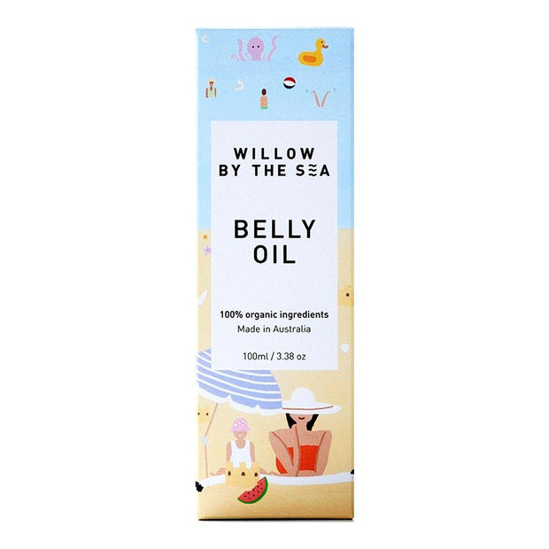 Belly Oil 100mL, Willow by the Sea, Belly Oil