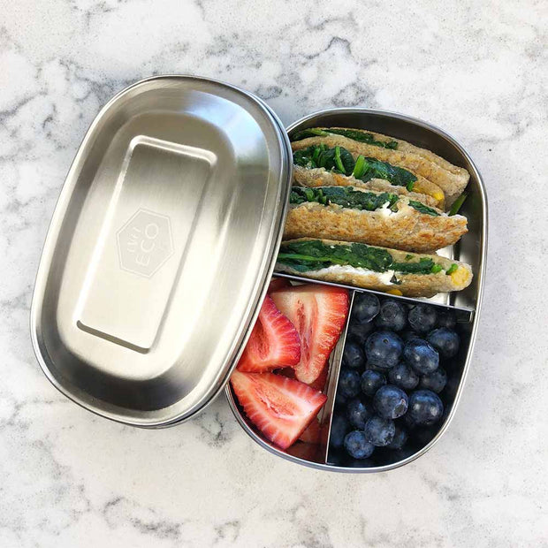 Bento Snack Box - 3 Compartment, Ever Eco, Food Container