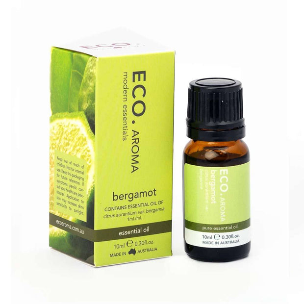Bergamot Pure Essential Oil 10ml, Eco Modern Essentials, Essential Oils