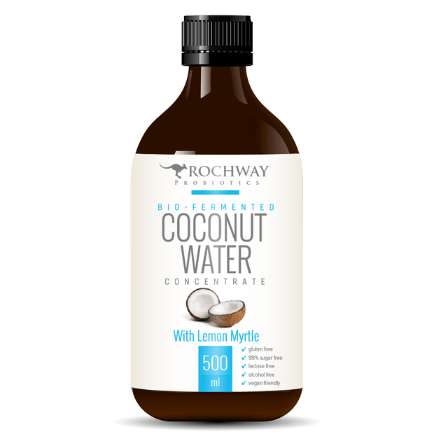 Bio-Fermented Coconut Water 500mL, Rochway, Probiotic