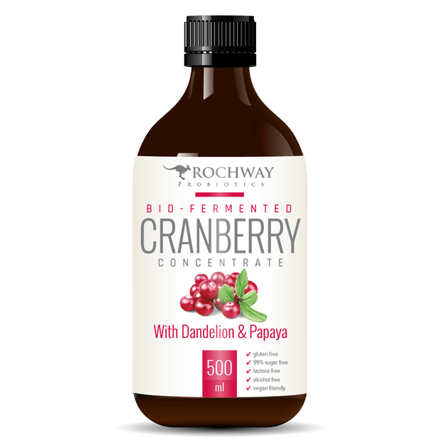 Bio-Fermented Cranberry 500mL, Rochway, Probiotic
