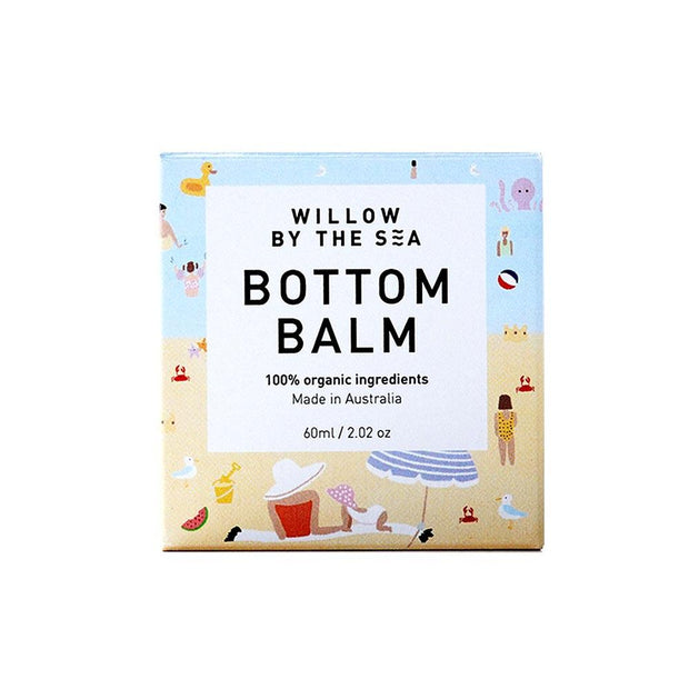 Bottom Balm 60mL, Willow by the Sea, Baby Oil