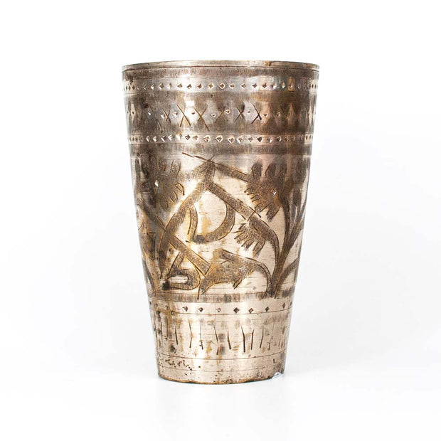 Brass Lassi Cup, Indigo Love Collectors, Cupware