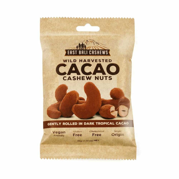 Cacao Cashew Nuts 35g, East Bali Cashews, Nuts