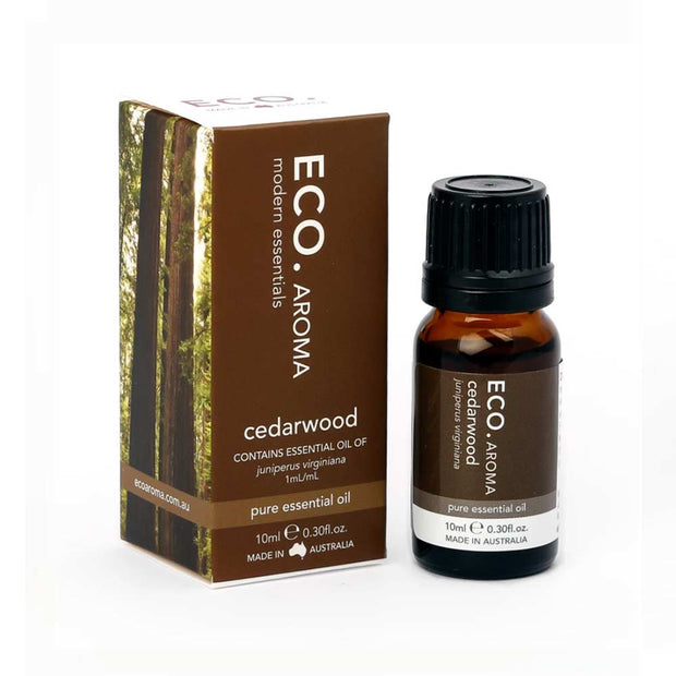Cedarwood Pure Essential Oil 10ml, Eco Modern Essentials, Essential Oils