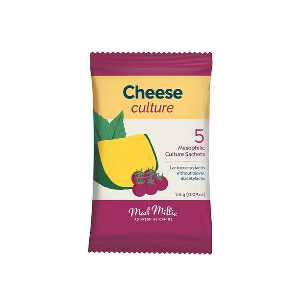 Cheese Culture - 5x Sachets, Mad Millie, Culture Starter