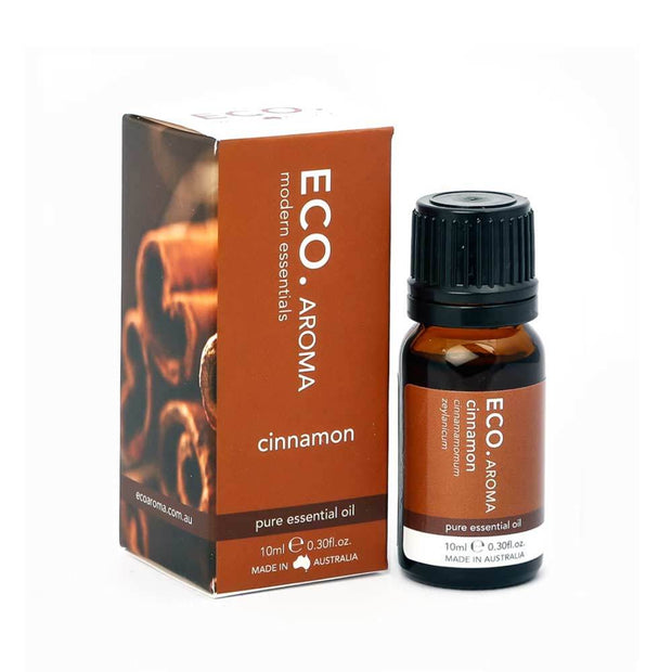 Cinnamon Pure Essential Oil 10ml, Eco Modern Essentials, Essential Oils