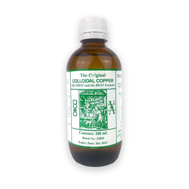 Colloidal Copper 200ml, Original Colloidal, Colloidal Copper