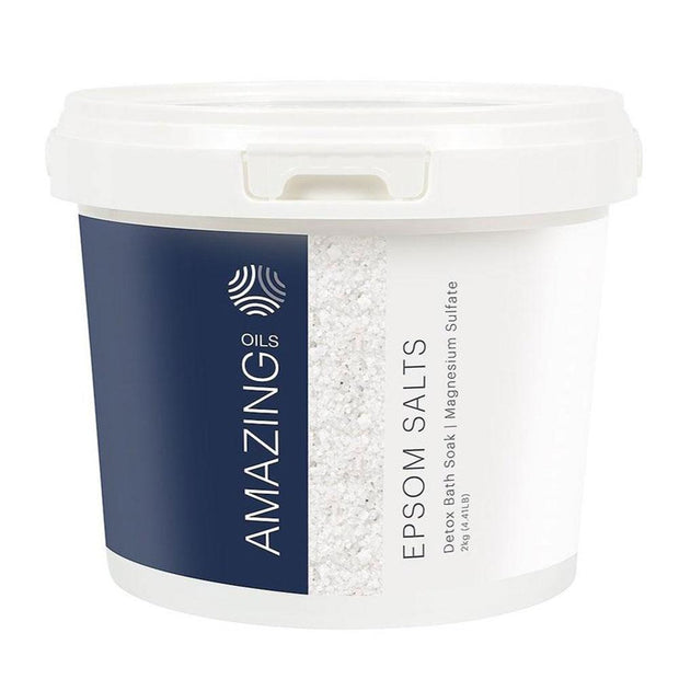 Detox Bath Soak - Magnesium Epsom Salts 2kg, Amazing Oils, Bath Soak