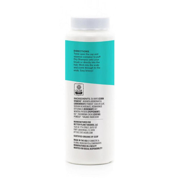 Dry Shampoo - Brunette to Dark Hair 58g, Acure, Dry Shampoo