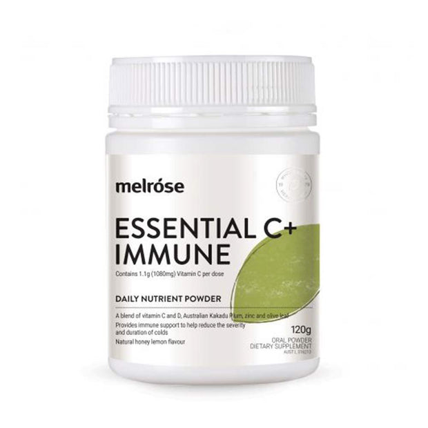 Essential C+ Immune 120g, Melrose, Nutrient Powder