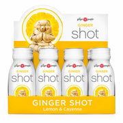 Ginger Shots – Lemon & Cayenne 12x60mL, The Ginger People, Drinks