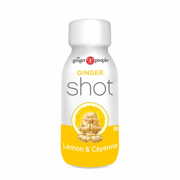Ginger Shots – Lemon & Cayenne, The Ginger People, Drinks