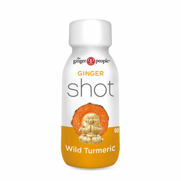 Ginger Shots – Wild Turmeric 12x60mL, The Ginger People, Drinks
