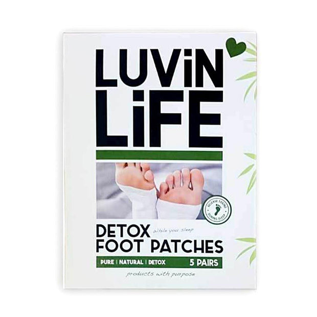 Herbal Foot Patches x5, Luvin Life, Foot Patch