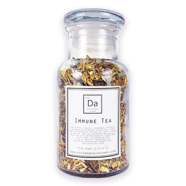 Immune Tea 50g, Daylesford Apothecary, Herbal Tea