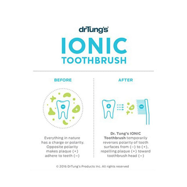 Ionic Toothbrush with Replacement Head, Dr Tung's, Toothbrush