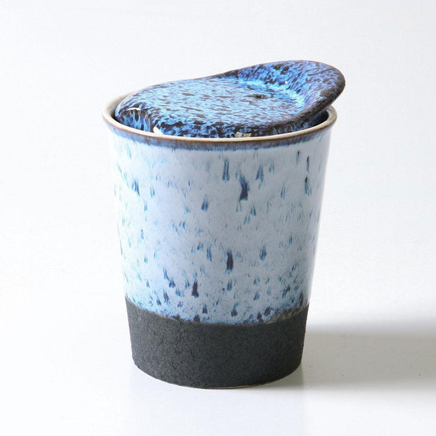 It's a Keeper Ceramic Cup 200mL - Blue, Indigo Love Collectors, Coffee Cup