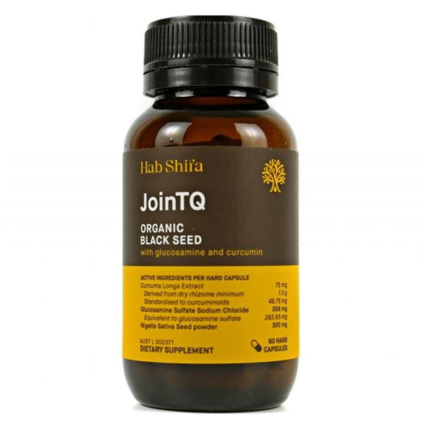 JoinTQ+ Activated Black Seed Oil - 60 Caps, Hab Shifa, Joint Health