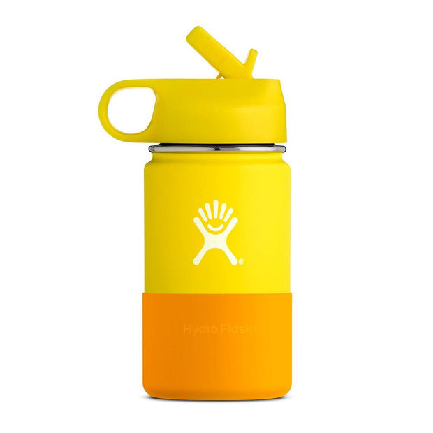 Kids Straw Lid Double Insulated - Lemon 254mL, Hydro Flask, Kids Water Bottles
