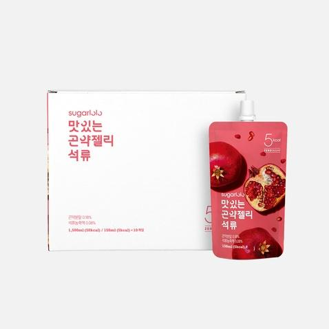 Konjac Jelly Snack 150mL, Pomegranate, Sugarlolo, Low Calorie Snack